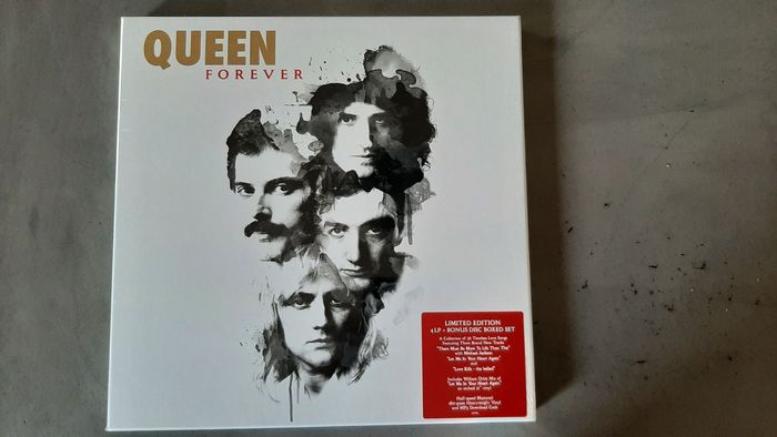Queen - Queen Forever - Limited edition, LP Box set - 2015