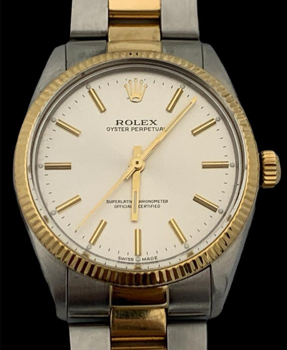 Rolex - Oyster Perpetual Gold/Steel - 1005 - 男士 - 1980-1989