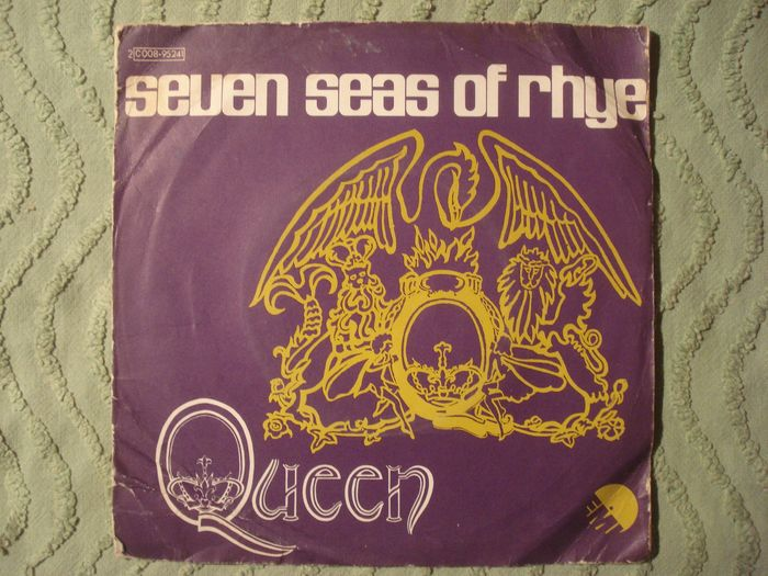 Queen - Seven Seas of Rhye/ See What A Fool I've Been - [rare French pressing] - 45 rpm Single - 1974