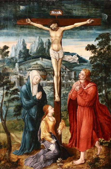 Flemish School, early 17th Century - The Crucifixion of Christ