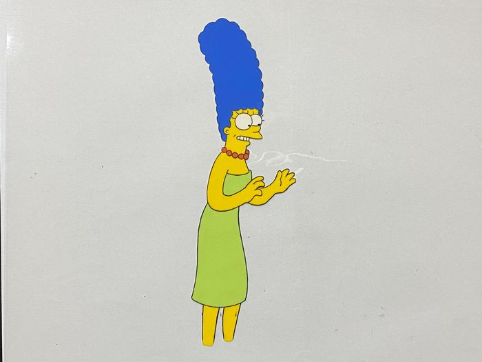 The Simpsons - Original Animation Cel of Marge Simpson