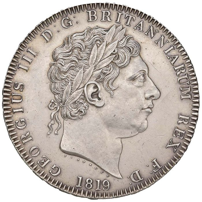 Groot-Brittannië. Crown 1819 George III
