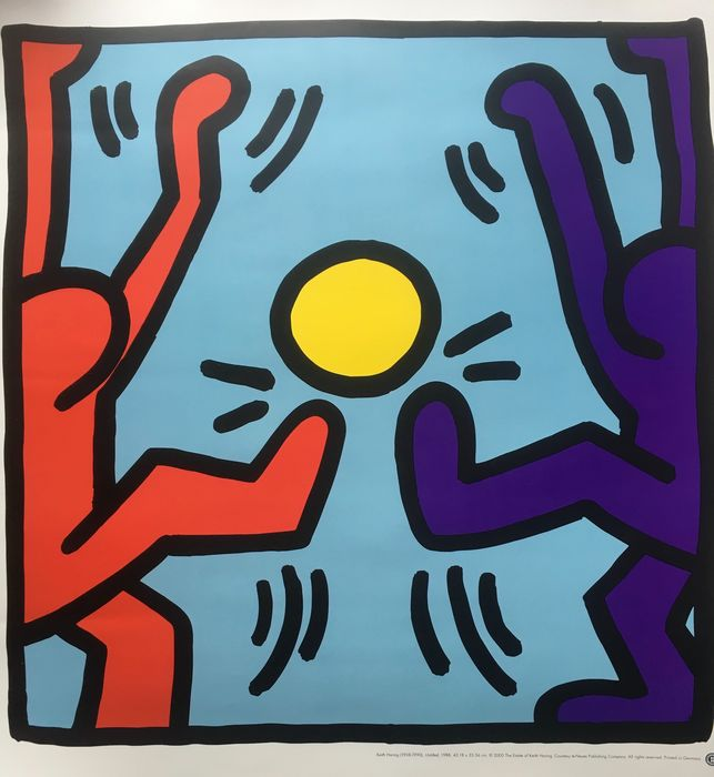 Keith Haring - Affiche - Untitled