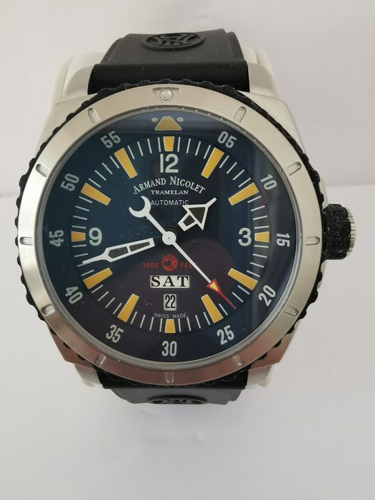 Armand Nicolet - S05 Day Date - A713MGN-BU-G9610 - Hombre - 2011 - actualidad