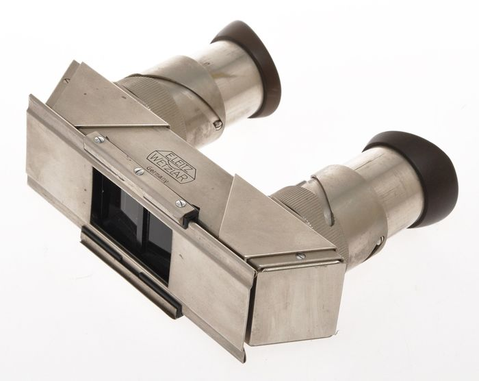 Leitz VOTRA, rare stereo viewer for pictures take with the Leica Stereoly, exc++, C.1934/36