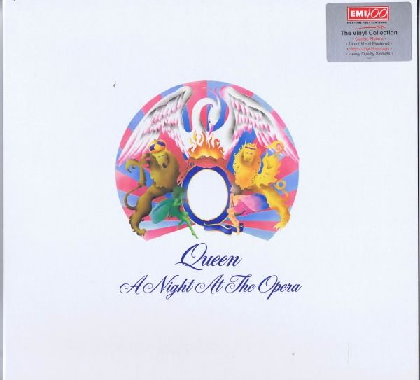 Queen - A Night At The Opera (EMI 100 UK DMM Audiophile Remaster) - LP Album - 1997