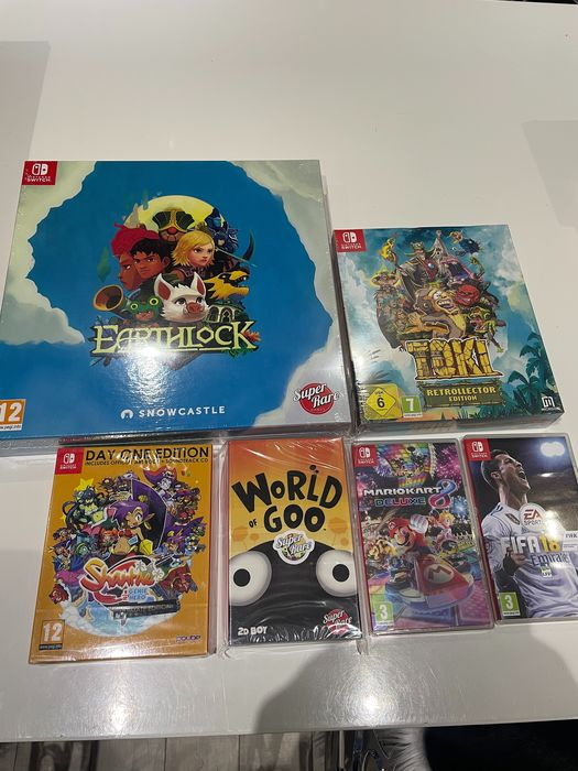 Nintendo Switch - 4 exclusive games and 2 random - Videogames (6)