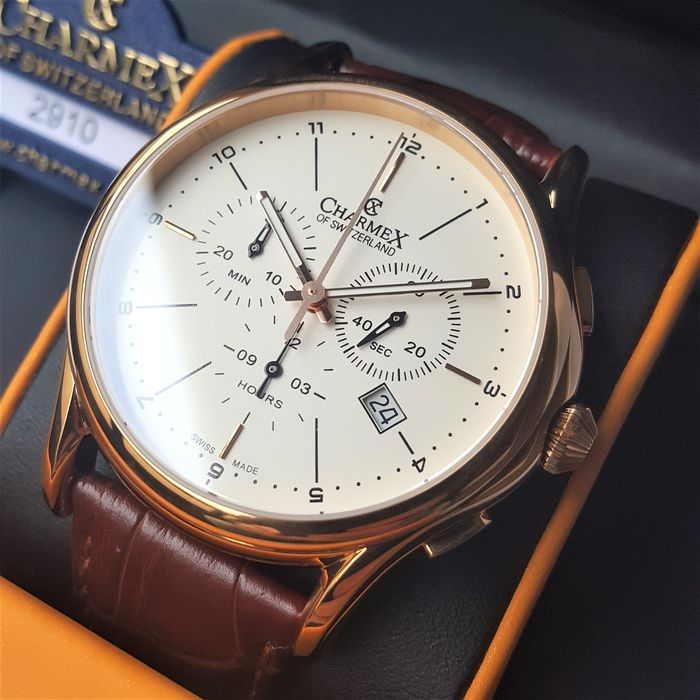 Charmex - Brands Hatch Chronograph Gold - Heren - New