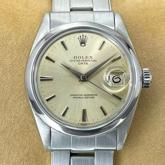 Rolex - Oyster Perpetual Date - 1500 - Unisex - 1965