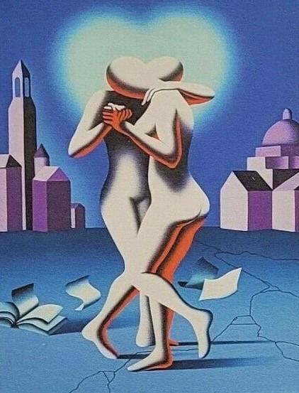 Mark Kostabi (1960) - Shifthing time and space