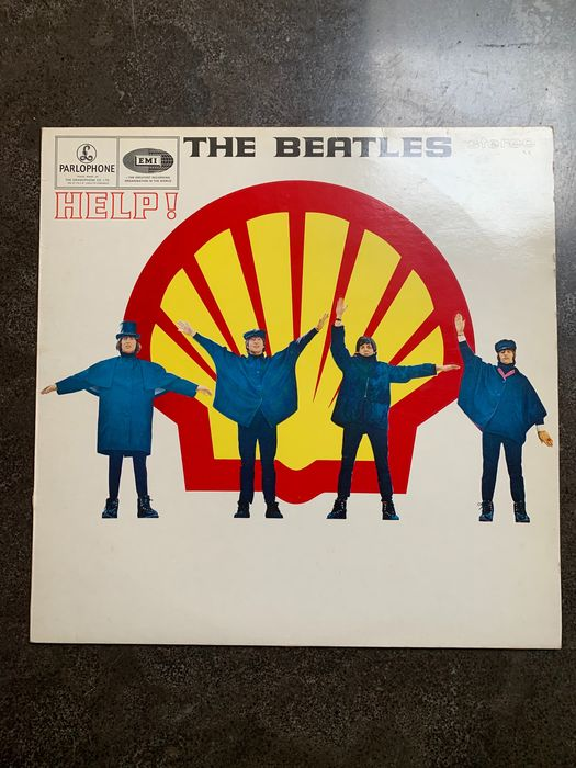"Beatles - Multiple artists - The Shell - ""HELP""  - Dutch original  LP album, rarest without the dot - LP album - 1979/1979"