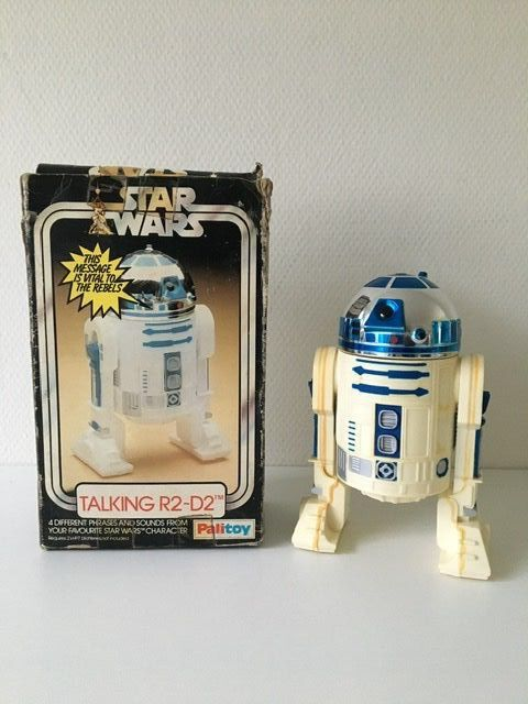 Star Wars - Palitoy - Figurine(s) - Vintage - 1977 - Talking R2-D2 with original box