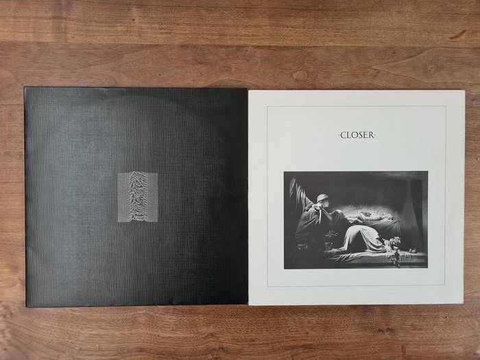 Joy Division - Unknow Pleasures & Closer - Différents titres - LP's - 1980/1980