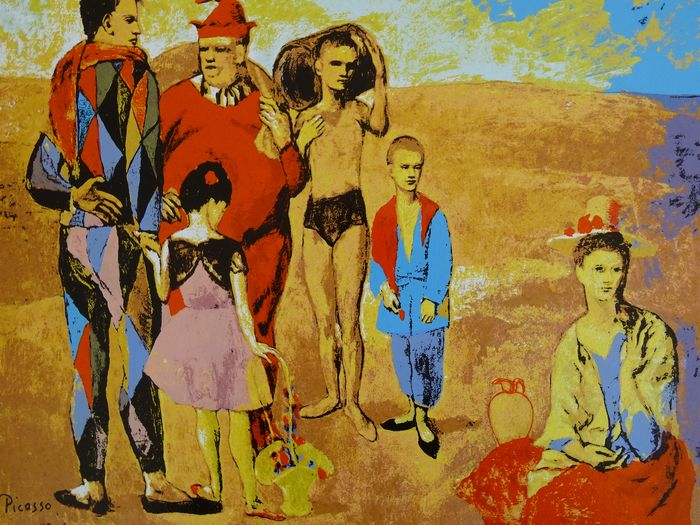 Pablo Picasso (1881-1973) - Family of Acrobats