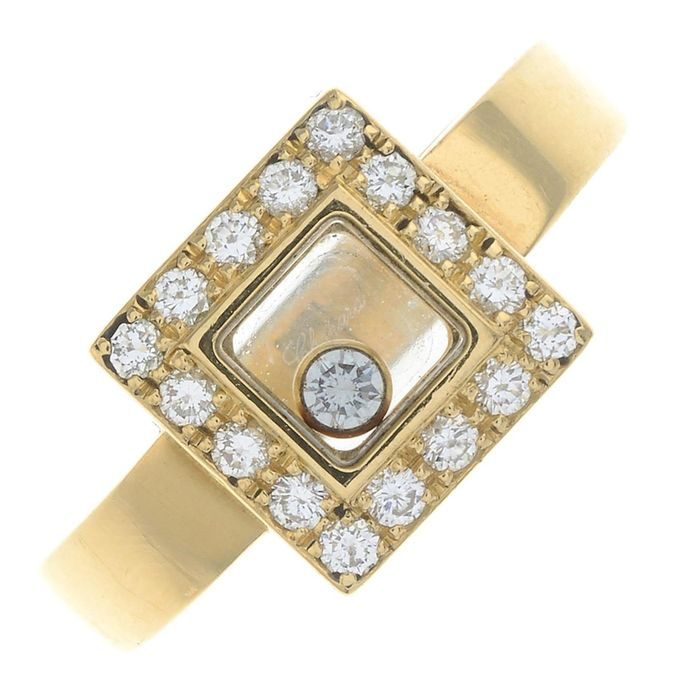 Chopard - 18 kt Gold - Ring - 0.35 ct Diamant