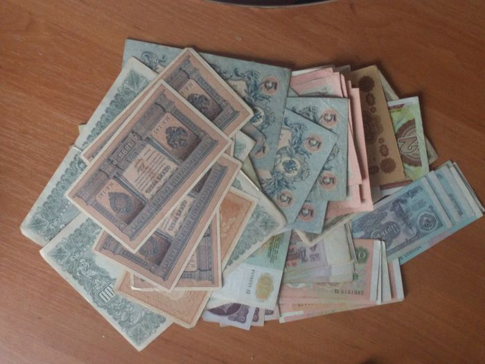 Russie - 107 banknotes - Various dates