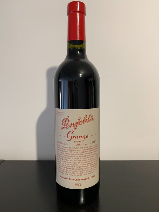 2013 Penfolds Grange Bin 95 - Barossa Valley - 1 Bottle (0.75L)