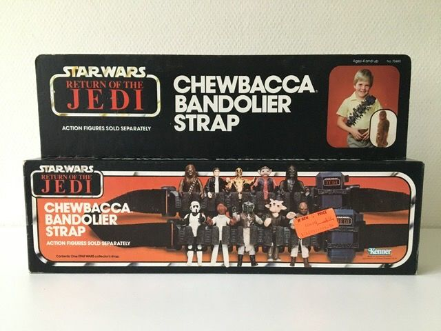 Star Wars Episode VI: Return of the Jedi - Kenner - Object - vintage - 1983 - Chewbacca Bandolier Strap in sealed box