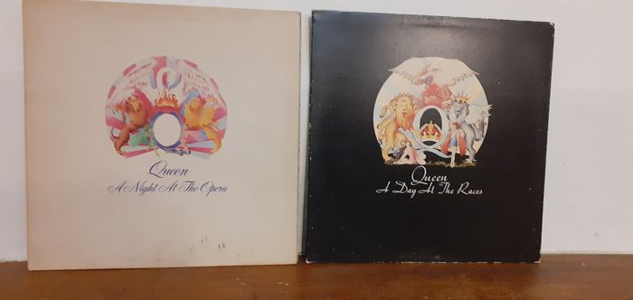 Queen - A Night At The Opera/ A Day At The Races [UK Pressings] - Multiple titles - LP's - 1975/1976