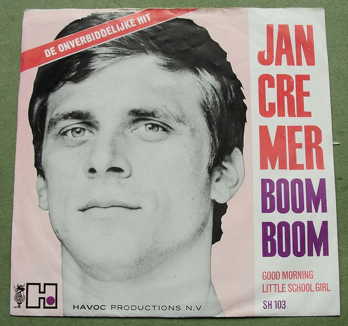 Jan Cremer (and his Jazzmen) - Boom Boom - 1964
