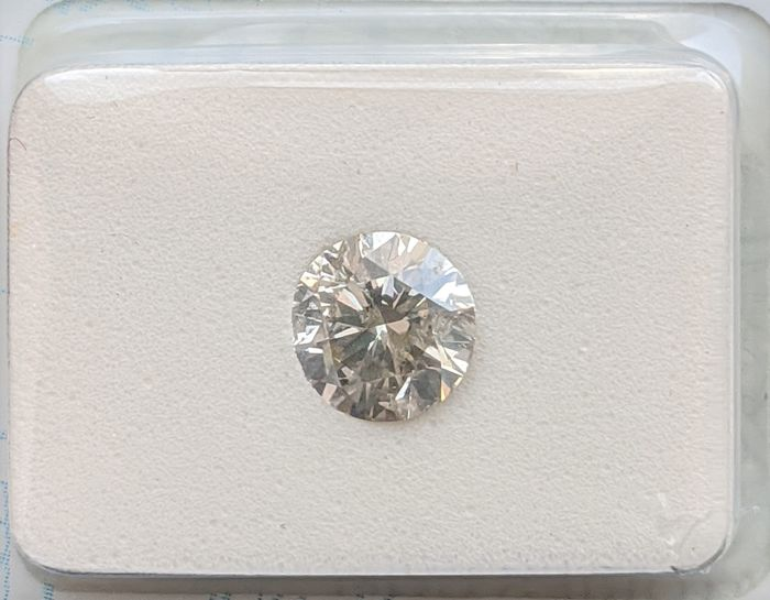 Diamant - 1.00 ct - Brillant - L - SI2, No Reserve Price