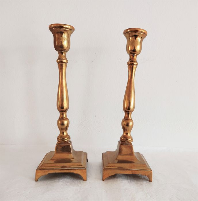 Bougeoirs (2) - Bronze
