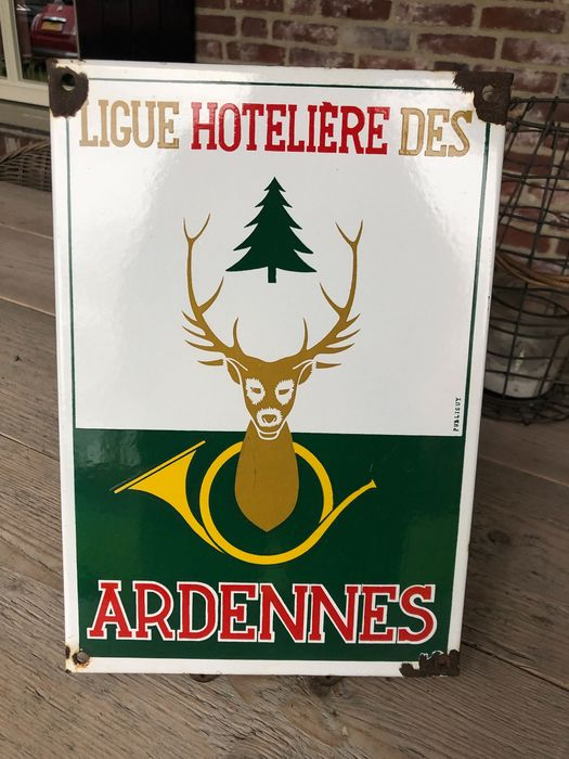 Hoteliere Ardennes - Bord - Emaille