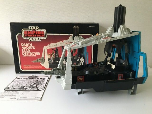 Star Wars Episode V: The Empire Strikes Back - Palitoy - Vaisseau spatial - vintage - 1980 - Darth Vader's Star Destroyer Action Playset