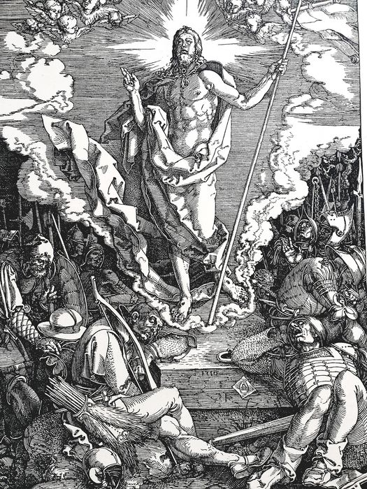 Albrecht Durer (1471-1528) - The Resurrection, from The Large Passion