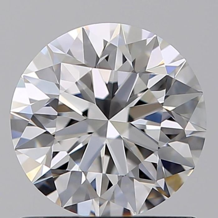 1 pcs Diamant - 0.90 ct - Brillant - D (incolore) - VVS2