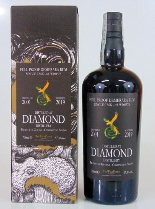 Diamond 2001 The Wild Parrot - Single Cask - b. 2019 - 700ml