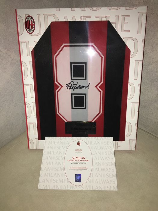 Ac Milan - Italian Football League - Rijkaard - Limited edition box