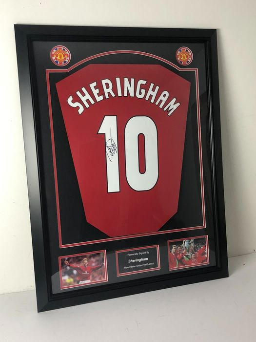 Manchester United - Premier league - Teddy Sheringham - Jersey