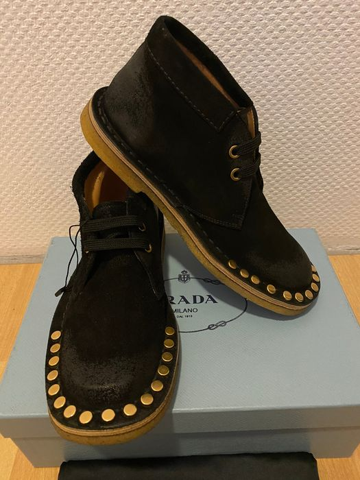 Prada - Chaussures à lacets - Taille: Chaussures / UE 36