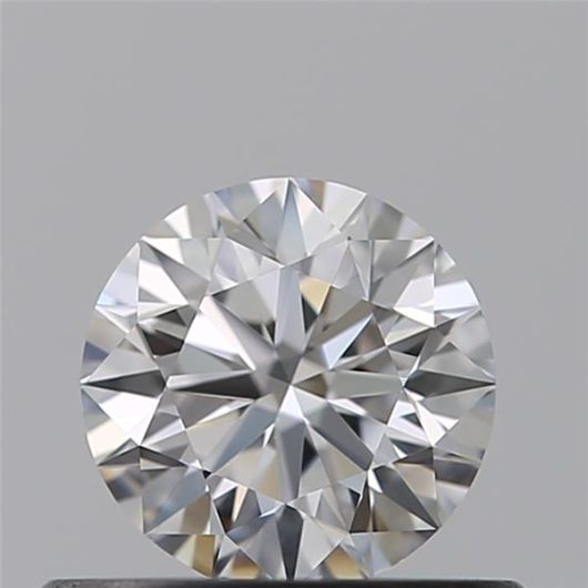 1 pcs Diamante - 0.50 ct - Brillante - D (incoloro) - VS1