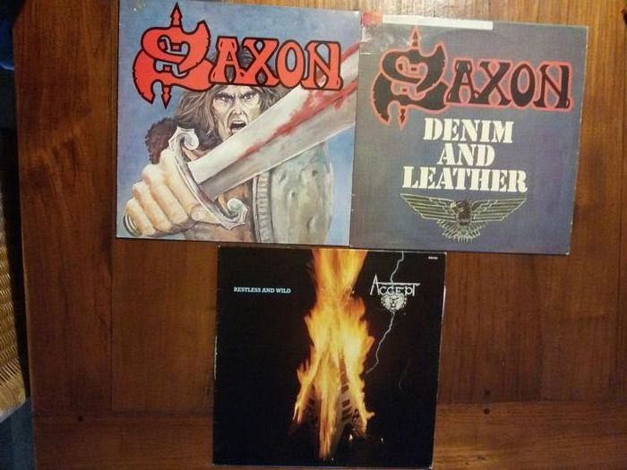 Various Artists/Bands in Hardrock-Heavy Metal - Multiple artists - Multiple titles - LP's - 1979/1984