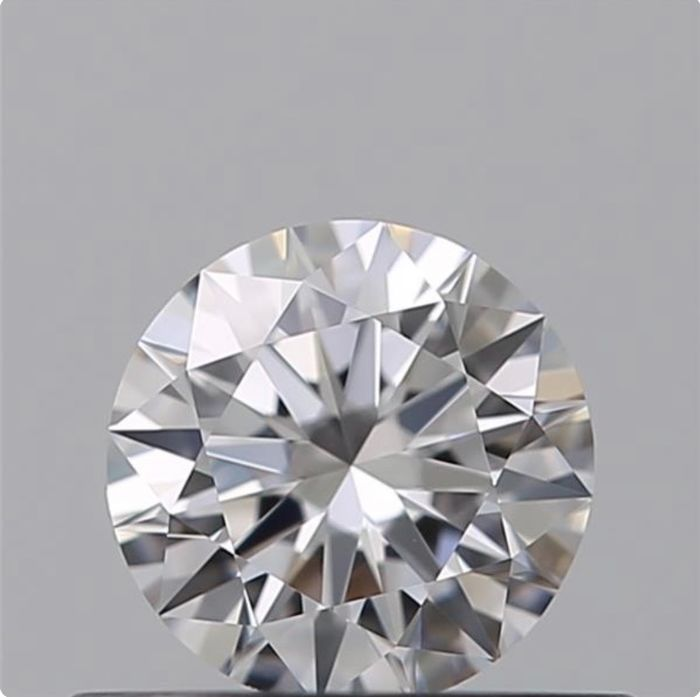 1 pcs Diamante - 0.33 ct - Brillante - D (incoloro) - IF (Inmaculado), *3Ex*