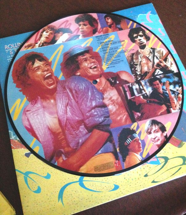 Rolling Stones - Dirty Work; Undercover; Still Life - 3 Album LPs - Multiple titles - LP's, Picture Disc - 1983/1983
