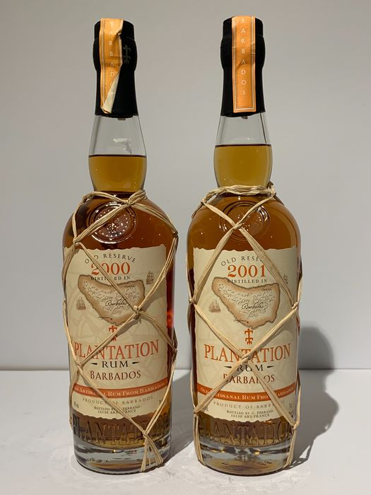 Plantation - Barbados 2000-2001 - 70cl - 2 bottles