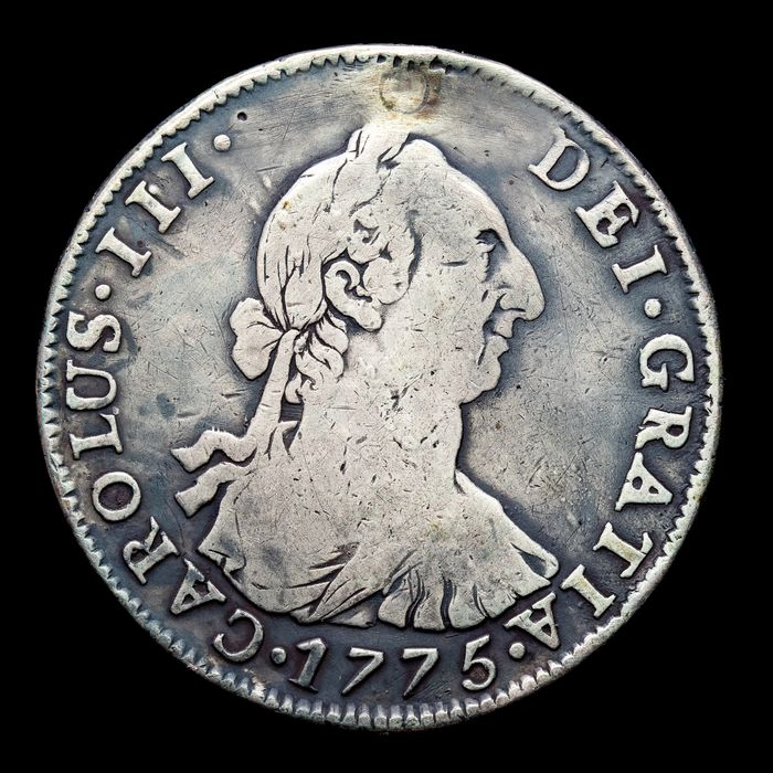 Kingdom of Spain. Carlos III (1759-1788). 4 Reales Potosí, 1775. J·R.