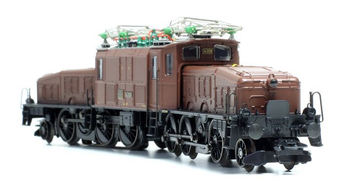 "Märklin H0 - 39562 - Electric locomotive - Ce 6/8 III ""Crocodile"" - anniversary ""125 years Gotthard-Bahn"" - SBB-CFF"