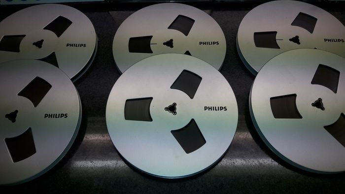 Philips - banden - 18 cm tapes