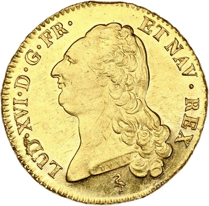 Frankrijk. Louis XVI (1774-1792). Double Louis d'or 1786-A, Paris