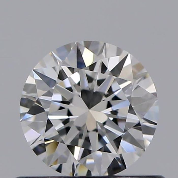 1 pcs Diamant - 0.45 ct - Brillant - D (incolore) - IF (pas d'inclusions), ***3EX***