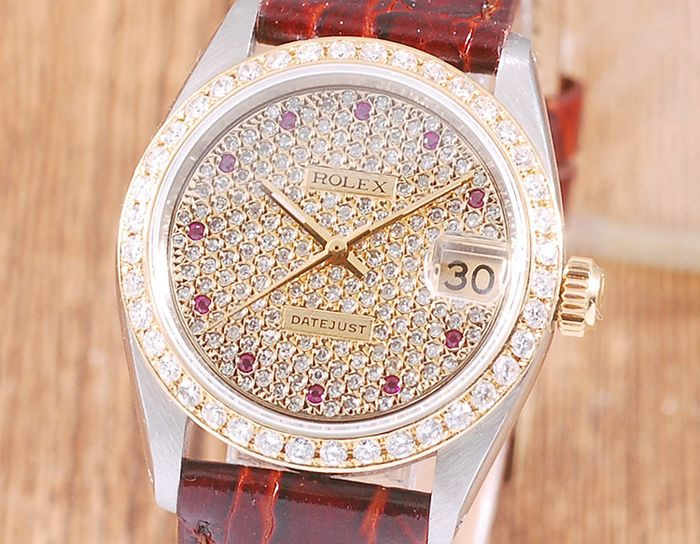 Rolex - Oyster Perpetual Datejust - 6827 - Femme - 1970-1979