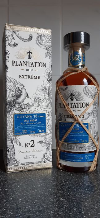 Uitvlugt 1999 18 years old Plantation - Extrême No. 2 - b. 2017 - 70cl