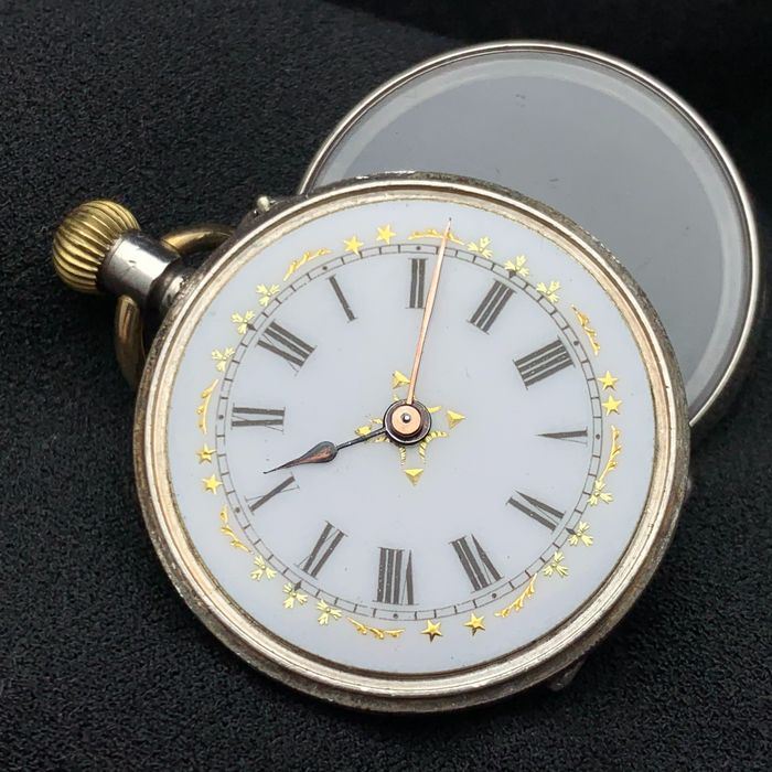 Swiss pocket watch - NO RESERVE PRICE - Unisex - 1900s