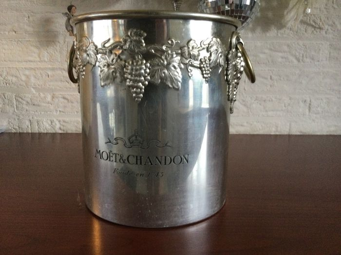 Moët et Chandon Ice-bucket by Meaux Argit France - fits 1 bottle - Champán