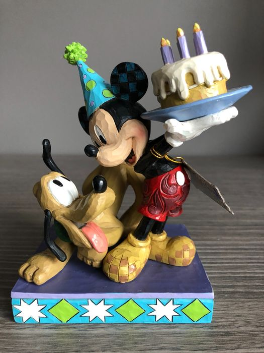 Disney Traditions - Mickey en Pluto birthday cake