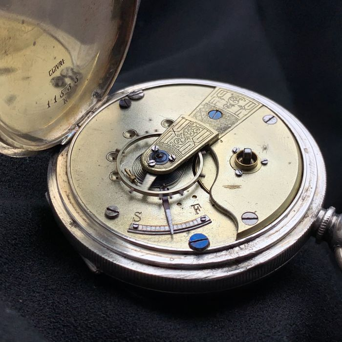 Sleutelwinder - Pocket watch - NO RESERVE PRICE - Herren - 1900s